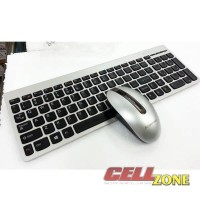 Lenovo Ultraslim Plus Wireless Keyboard Mouse SM-8861 - Silver