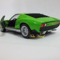 Diecast Miniatur Lamborghini Miura Green