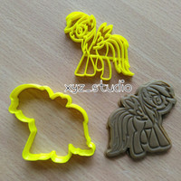 Little Pony Rainbow Dash Cookie Cutter