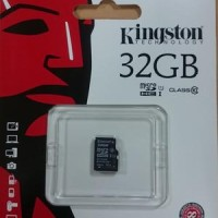 Jual Kingston Micro SD Card 32gb 80MBps Class 10 - Garansi Resmi Murah