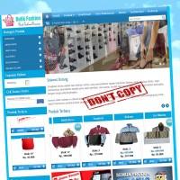 Toko Online butik fashion profesional Script/ full source code