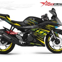 Decal stiker Yamaha R15 Black VR46 Project