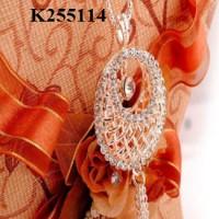 harga Perhiasan Kalung Panjang + Liontin (Cincin xuping lapis emas) Tokopedia.com