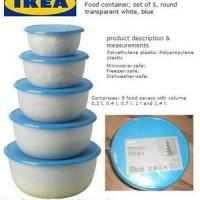 Jual IKEA REDA Plastic Container Murah