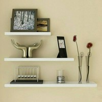 Jual 3pcs,rak dinding minimalis,floating shelves gantung, ambalan melayang Murah
