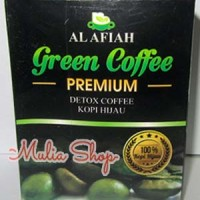 Green Coffee Premium Al Afiah | Detox Coffee | Kopi Hijau | Kopi Diet