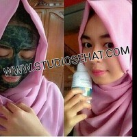 Masker Spirulina Tiens 10 Kapsul | Wajah Cerah, Kencang & Putih Alami