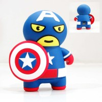 Powerbank Chara Chibi Captain America Superheroes