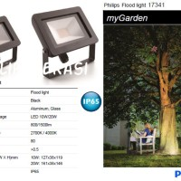 Lampu Sorot LED Floodlight Philips 20 Watt 17342 2700K
