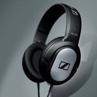 Sennheiser HD201 Powerfull Stereo Sound Experience Headphones - Headph