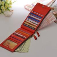 dompet panjang wanita import / dompet kartu kulit PU impor korean