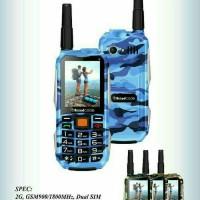 Brandcode B81 Army Handphone Unik Batre Besar Bisa Powerbank