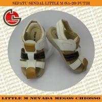 harga Sepatu Sendal Anak Little M (sa-20) Putih/tan/biru Tokopedia.com