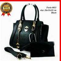 harga Tas Furla 0042 Black FREE DOMPET / Tas Wanita / Tas Import Branded Tokopedia.com