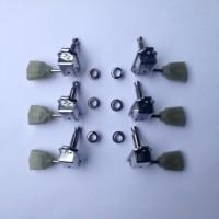 Dryer / Tuning Machine Tulip Hijau Giok untuk Gitar Gibson & Epiphone