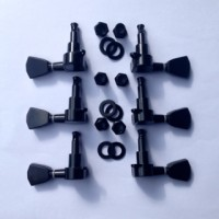 Dryer / Tuning Machine Tulip Hitam untuk Gitar Gibson & Epiphone 3L-3R