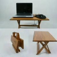 Meja Lipat Belajar dan Mengaji / Meja Laptop / Meja Anak Kamar Kost