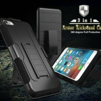 Jual IPHONE 7 FUTURE ARMOR WITH HOLSTER CLIP CASE ( Dual Layer Case ) Murah