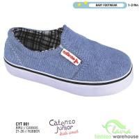 Sepatu Casual Slip On Anak Laki-laki 1-3 tahun CYT 001 Biru