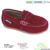 Sepatu Casual Slip On Anak Laki-laki 1-3 tahun CYT 006 Merah