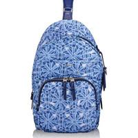 TUMI Brive Sling Backpack Cayenne Tile Print