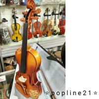 Biola VERONA CARVING / Violin Carving VERONA 4/4
