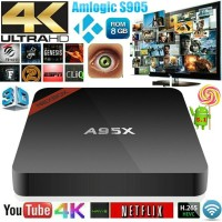 NEXBOX A95X The Best Androit TV -RAM 1G/ROM 8G- Kodi 16.1 Jarvis