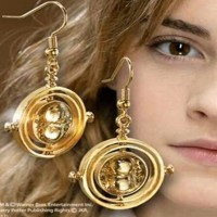 Anting Harry Potter Time Turner Necklace Hermione Granger