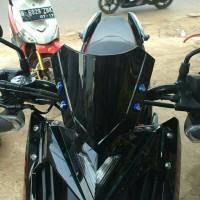harga Variasi Visor Motor Matic Yamaha X-Ride Kaca Black Tokopedia.com