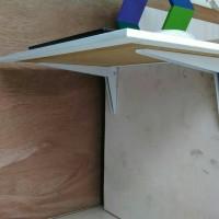 Meja Lipat Dinding Engsel Besi