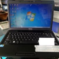 MURAH!!! laptop Toshiba C640 Core I3 Casing Mulus