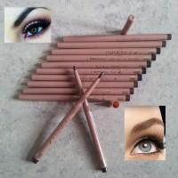 Special NAKED CRAYON PUTAR Eyeliner / Eyebrow Pencil - COKLAT / HITAM