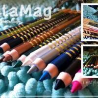 Special MN crayon colors eyeliner Lis garis putar