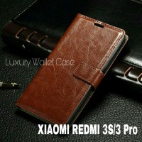 Luxury Wallet Case For Xiaomi Redmi 3 Pro / Flip Cover Leather Xiaomi