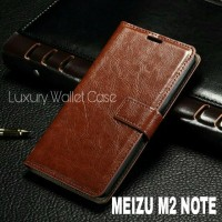 Luxury Wallet Case For Meizu M2 Note / Flip Cover Leather Case Meizu