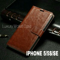 Luxury Wallet Case For Iphone 5/5S/SE Flip Cover Leather Case IPHONE