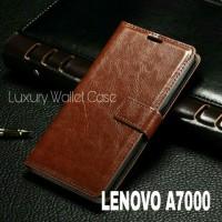 Luxury Wallet Case For Lenovo A7000 / Flip Cover Leather Case Lenovo