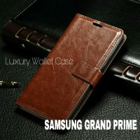 Luxury Wallet Case For Samsung Grand Prime G530 / Flip Cover Leather