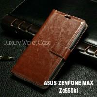 Luxury Wallet Case For Asus Zenfone Max (Zc550kl) / Flip Cover ASUS