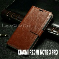 Luxury Wallet Case For Xiaomi Redmi Note 3 Pro / Flip Cover Leather