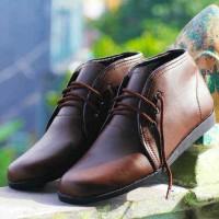 Sepatu casual pria icon brodo taka brown