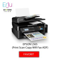 EPSON L565 Printer Multifungsi (Print Scan Copy Fax WiFi ADF)