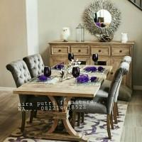 meja makan rustic