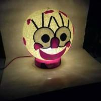 Jual Lampion Benang Karakter / Lampu Tidur Benang Murah