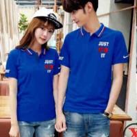 Kaos Couple Berkerah | Baju Couple Polo | Pakaian Kapel/Kembar AP20BK
