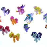 harga [Mainan Figurine] FIGURINE MY LITTLE PONY ISI 12 (UKURAN KECIL) Tokopedia.com