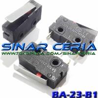 Micro Limit Switch Saklar Kecil 3 Pin Gagang 5A 250v AC Bisa NO / NC