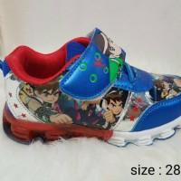 Sepatu Kets Ben 10 untuk Anak Cowok / Laki2