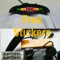Sensor Parkir Mobil 2 Titik + Display LED