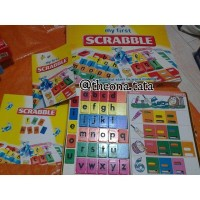 "Mattel ""My First Scrabble"" mainan edukasi murah Limited"
